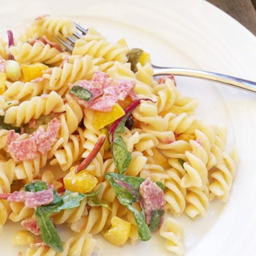 zomerse pastasalade