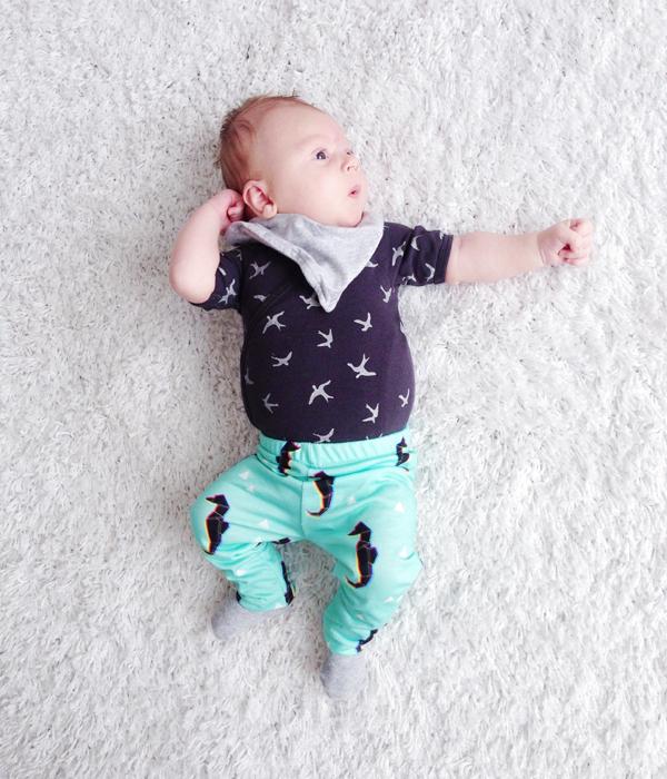 baby legging maken