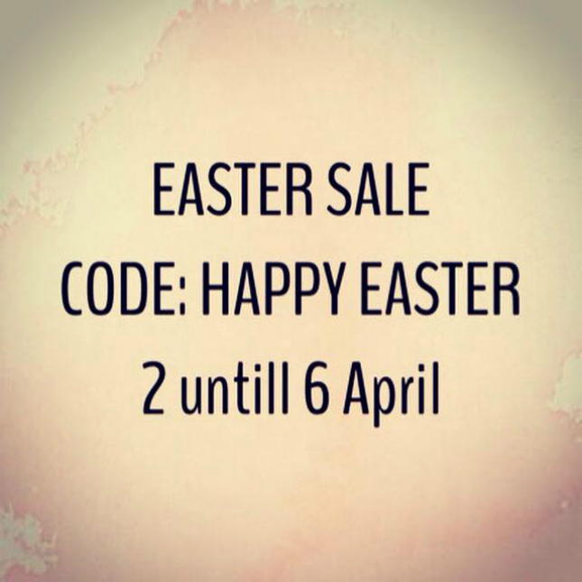 Fie & Vic - easter sale