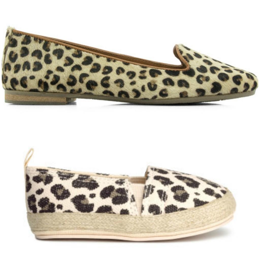 maruti en h&m dierenprint schoenen instapper