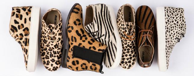maruti schoenen met dierenprint