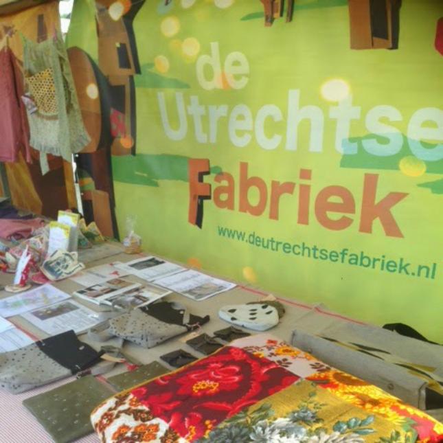 Utrechtse Fabriek in Utrecht tijdens Pinksteren