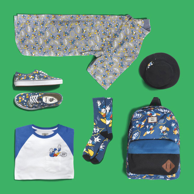 Vans Disney Donald Duck set