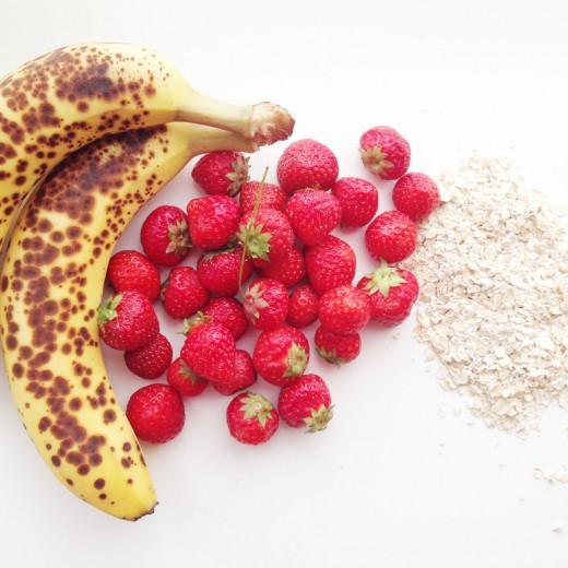 Recept havermoutmuffins ingredienten - gezond ontbijt kinderen