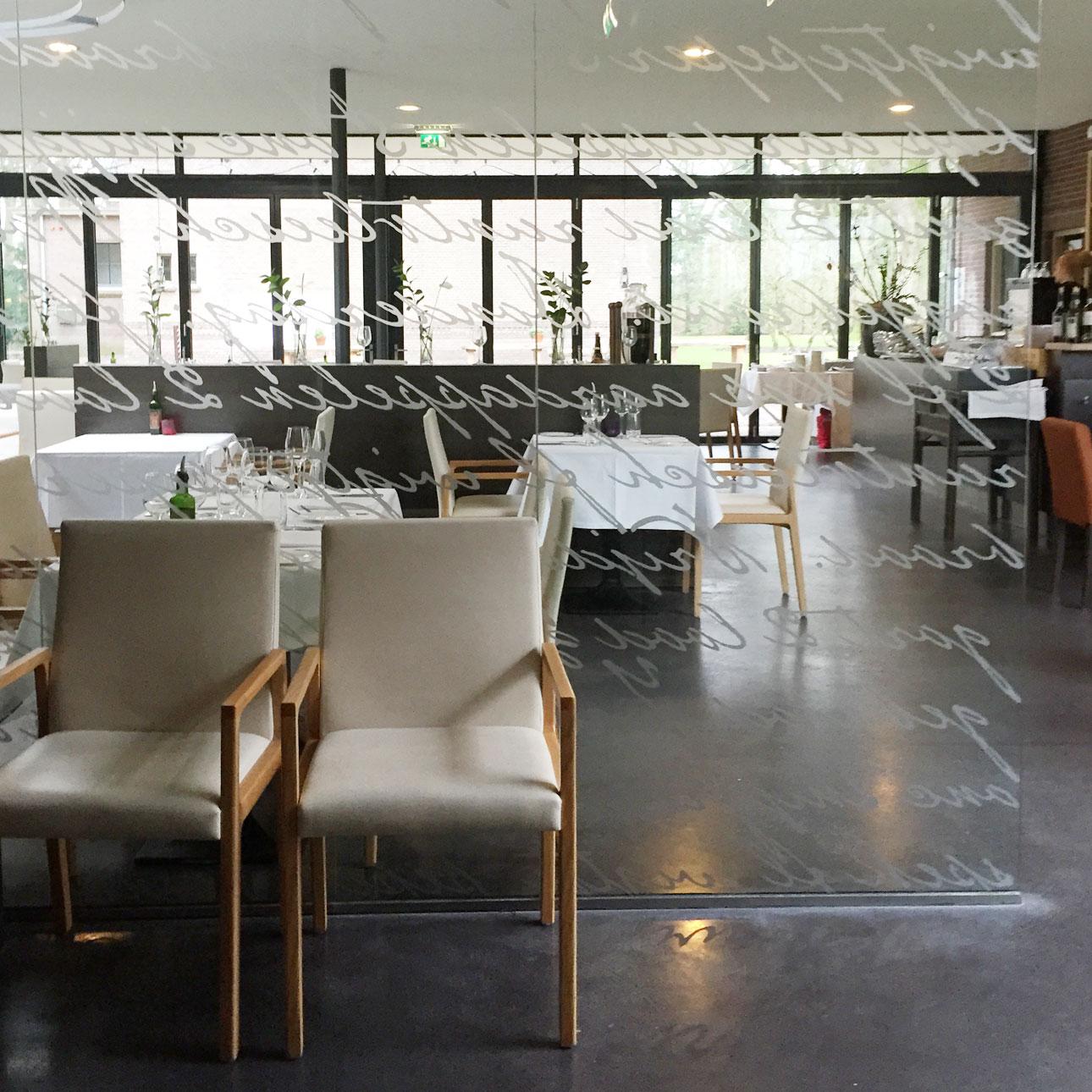 Hotel Bitter en Zoet Veenhuizen restaurant