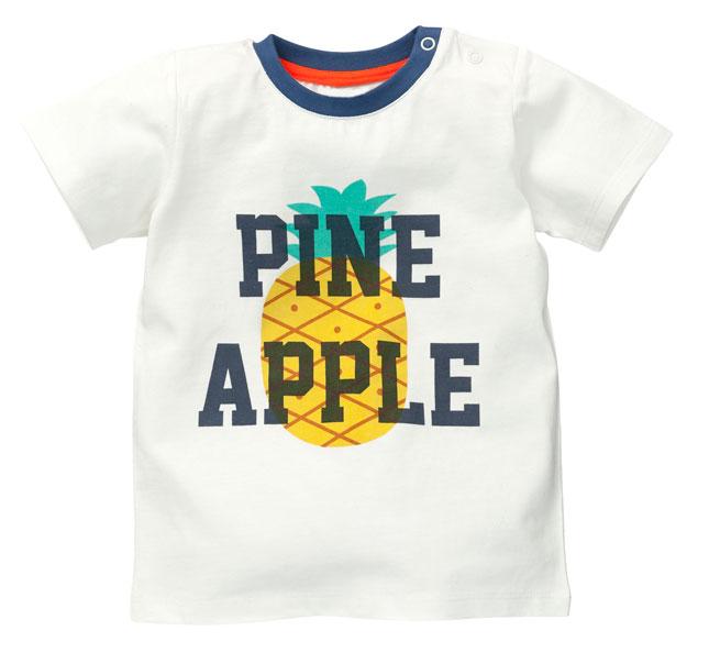 Kinderkleding ananas t-shirt hema