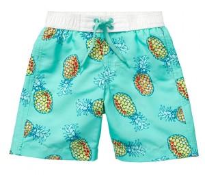 Kinderkleding ananas zwembroek Hema