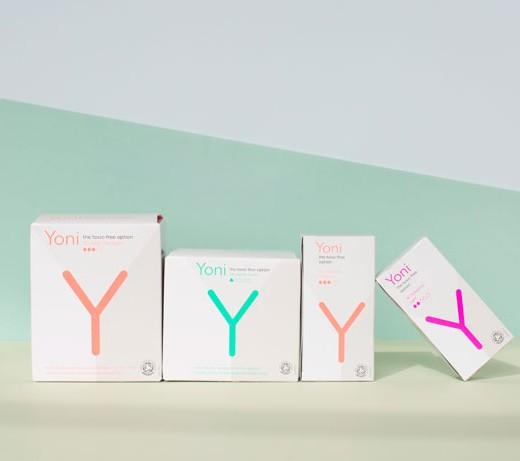 Yoni tampons en maandverband - biologisch katoen