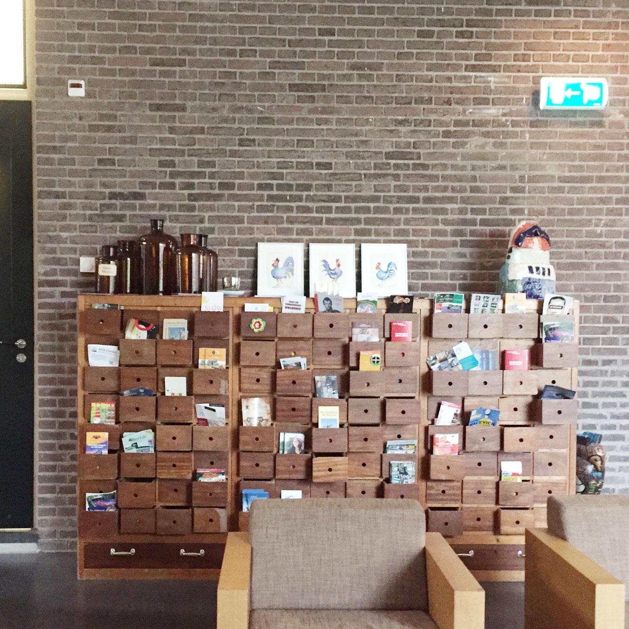 Hotel Bitter en Zoet Veenhuizen lobby