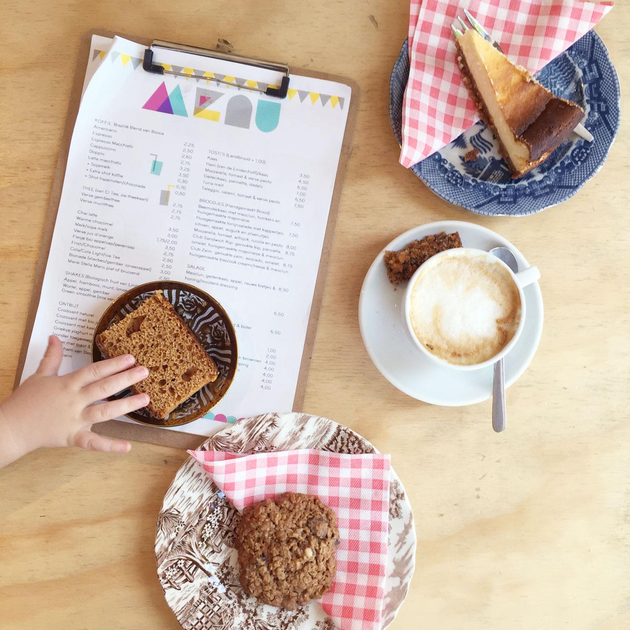 Dagje Amsterdam met kids Minimarkt menu