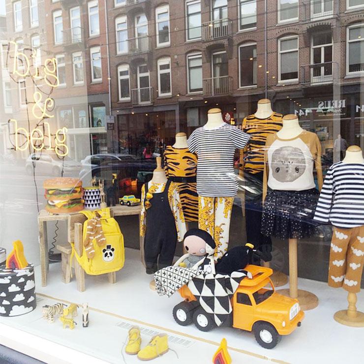 Dagje Amsterdam met kids Big en belg