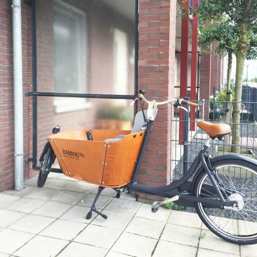 Babboe City bakfiets - getest door Mamalifestyle.nl