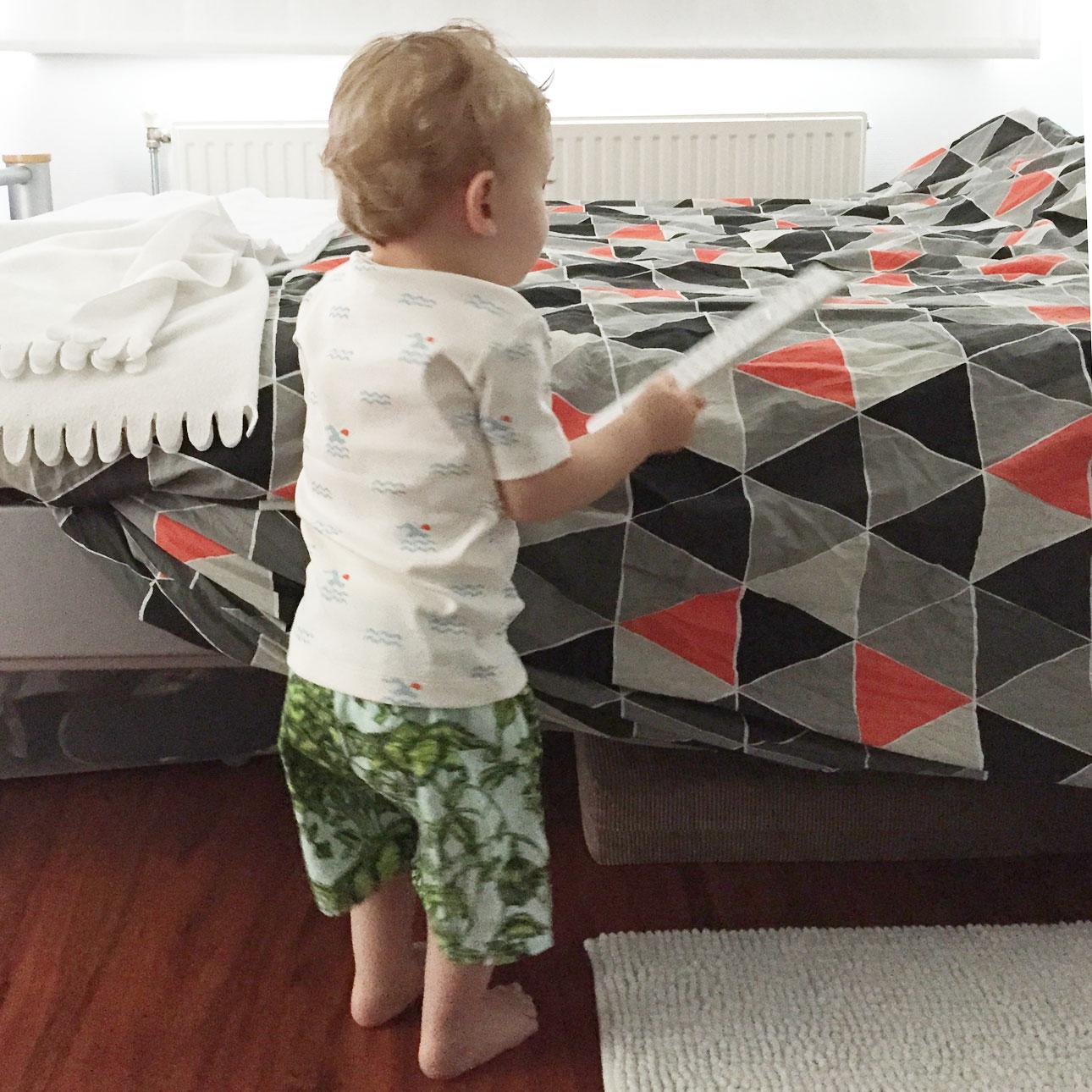 Mamalifestyle juli 2015 2 Javian bed