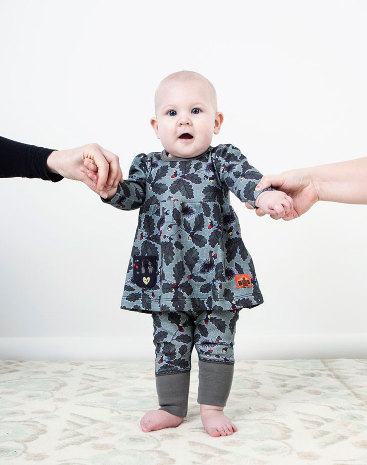 Modeerska Huset aw15 To Squirrel Baby girl