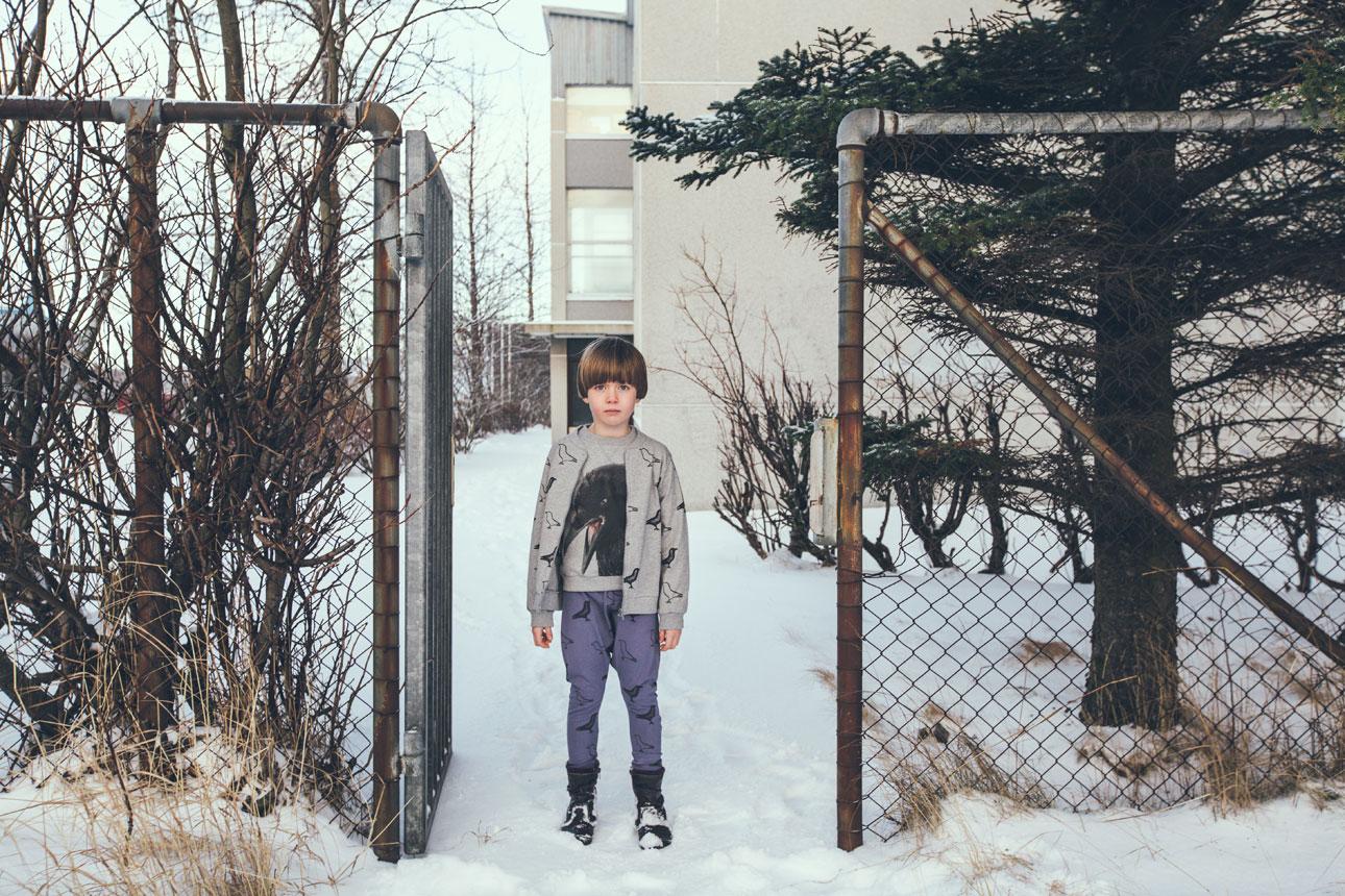 Moi Kidz AW15 grijs sneeuw