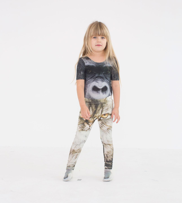 Popupshop AW15 gorilla kat meisje