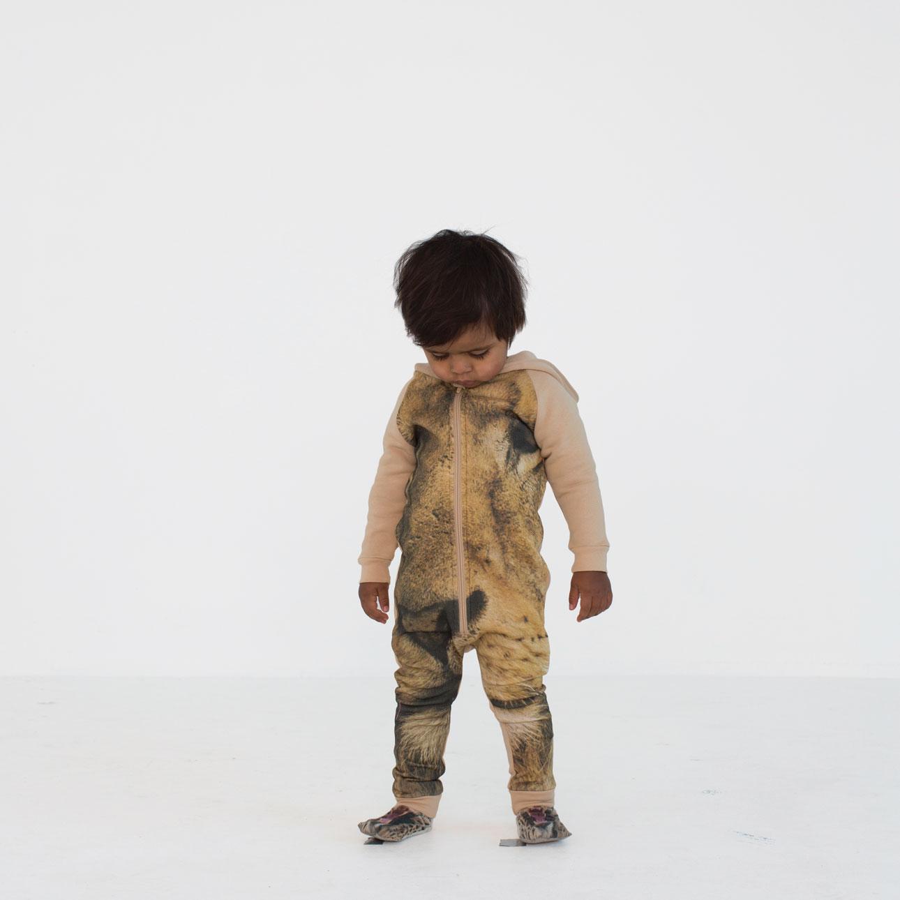 Popupshop aw15 leeuwen onesie sokken