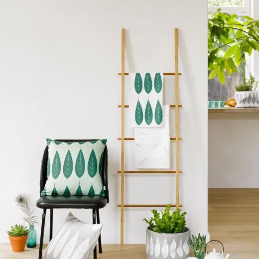 Roomblush naturals trap stoel wit groen