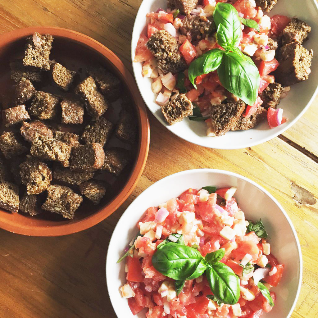 skinny taste toscaanse broodsalade