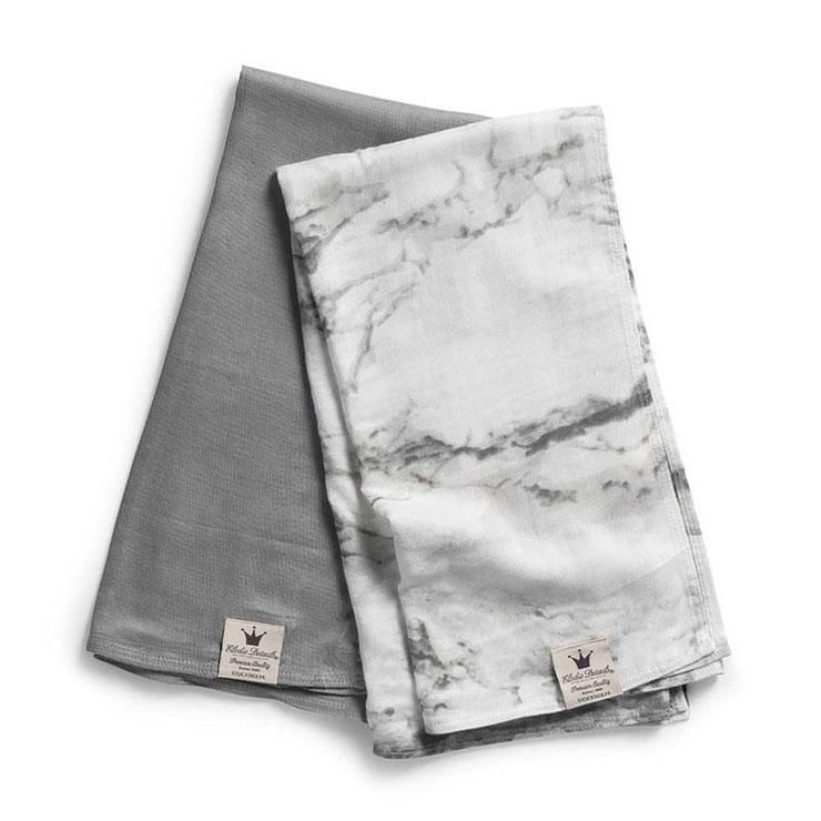 9x marmerprint hydrofiele doeken elodie details