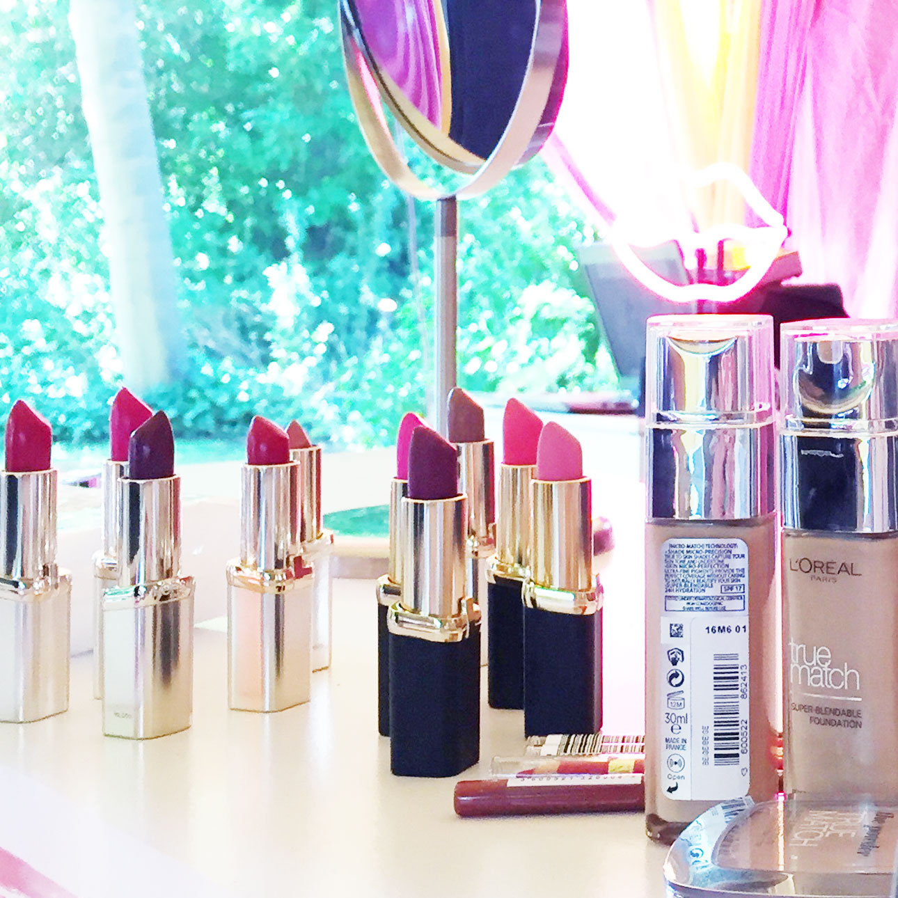 Fabulous mama of the year awards L'Oreal lippenstift workshop