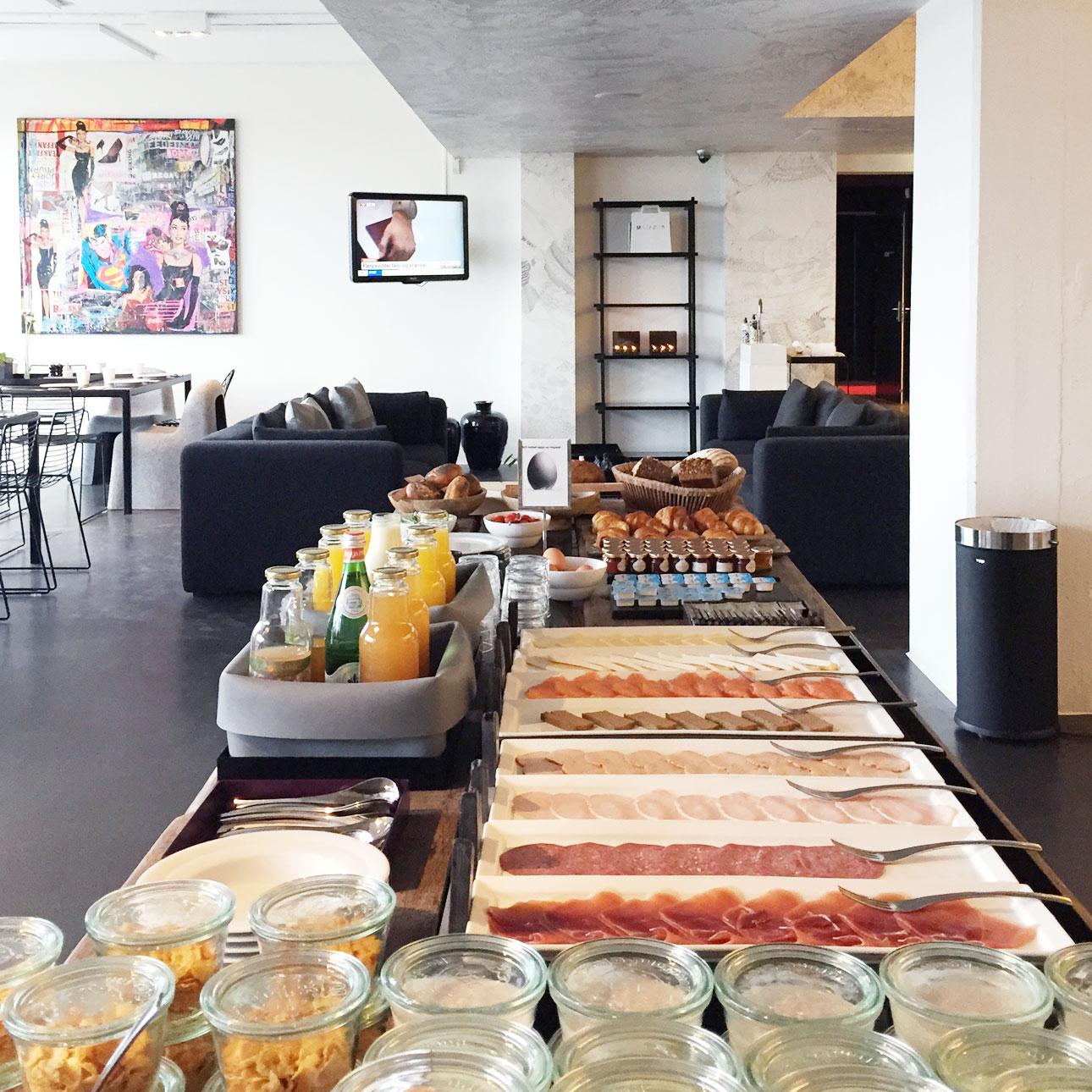 STAY hotel Kopenhagen ontbijten