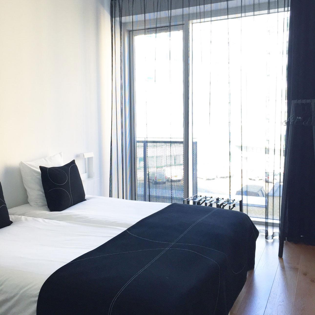 STAY hotel kopenhagen slaapkamer