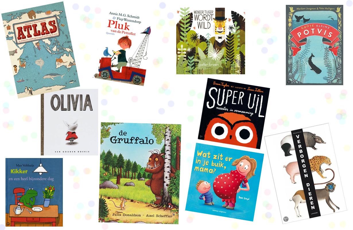 10x kinderboeken - voorleesboeken - prentenboeken - boeken voor baby, dreumes of peuter