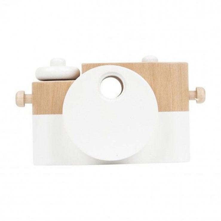 speelgoedcamera houten camera twig creative - minimiks