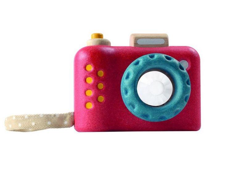 speelgoedcamera houten camera plan toys - psikhouvanjou.nl