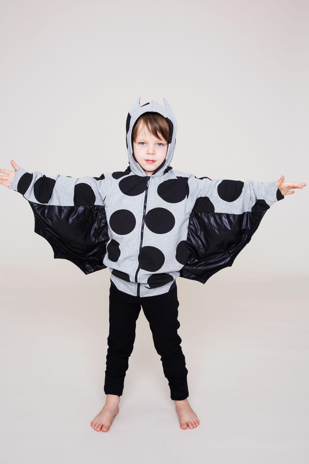 Bang Bang Copenhagen aw15 jongen batwings vest stippen