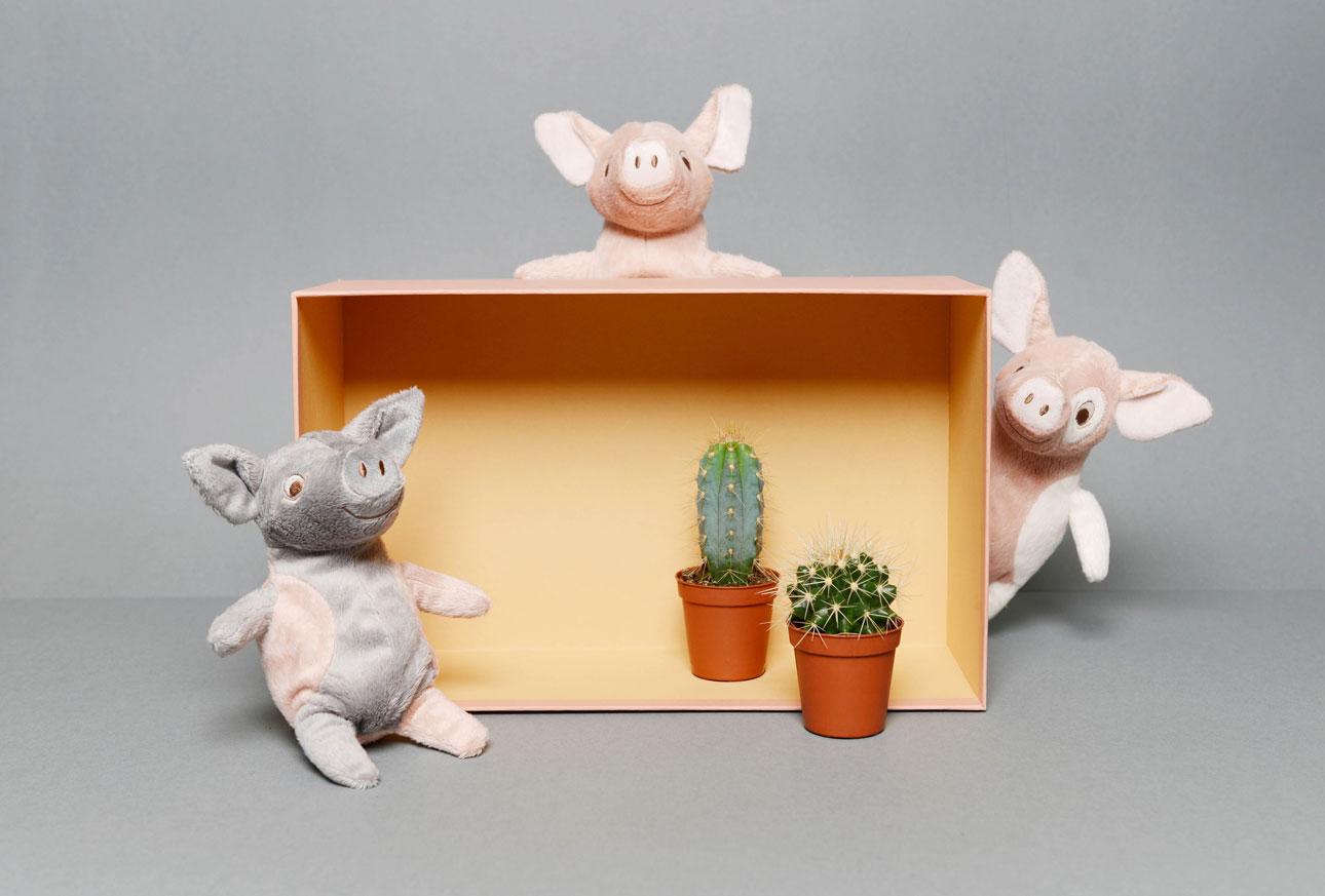 ikea speelgoed beestenboel 3 biggetjes