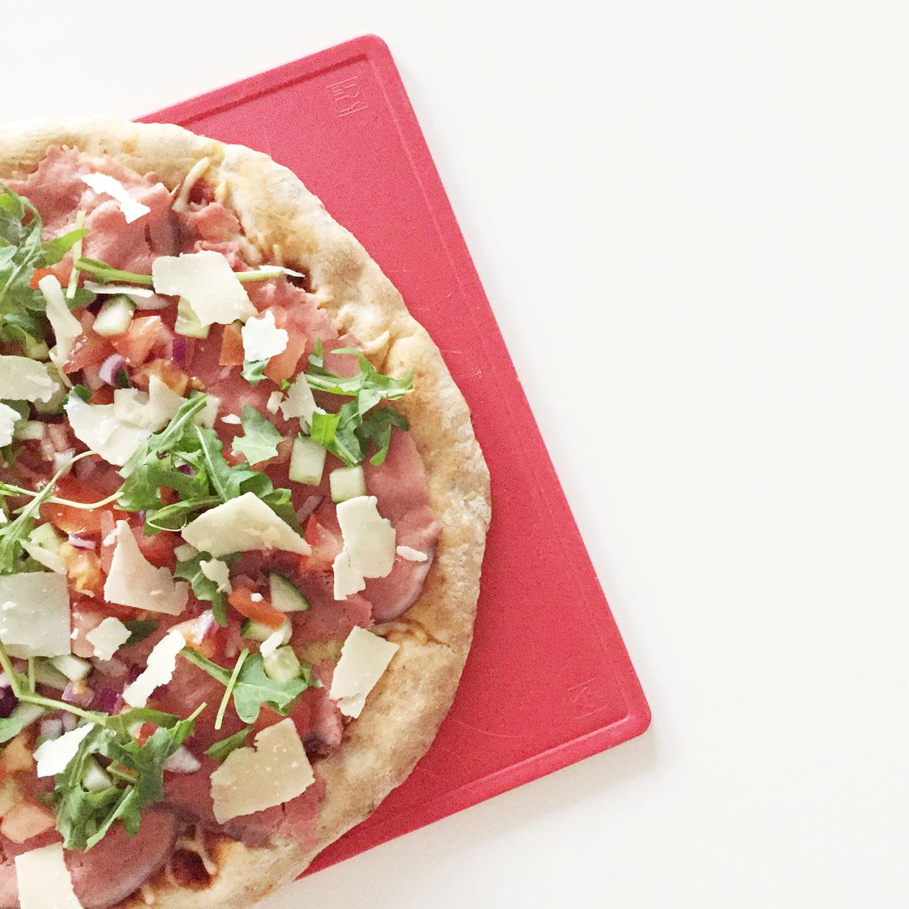 Recept pizza carpaccio
