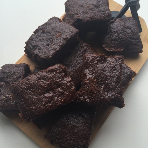 courgette chocolade brownies