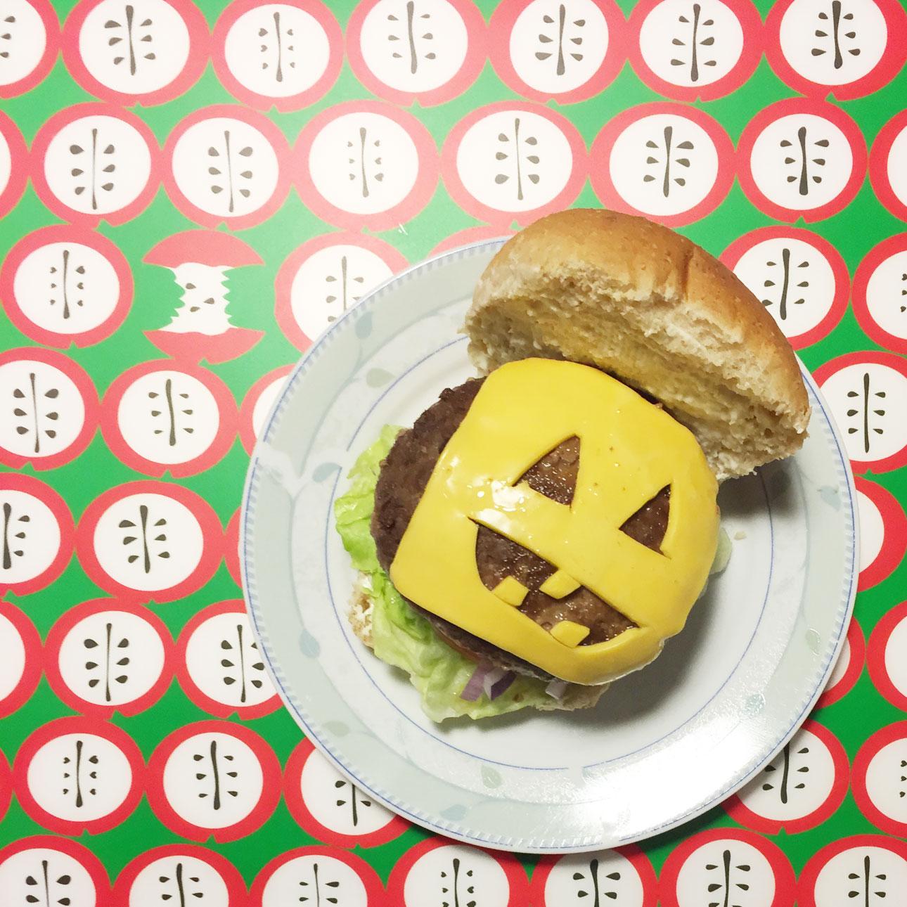 Mamalifestyle oktober 2015 Halloween burger
