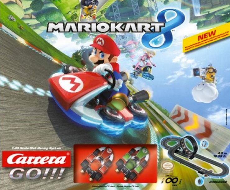 Sinterklaas verlanglijstje mario kart racebaan