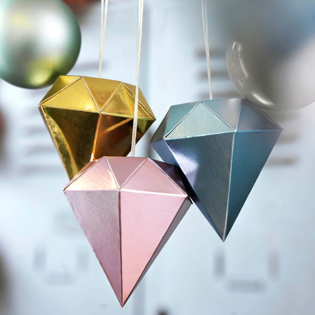 Ikea kerst 2015 papieren kristallen