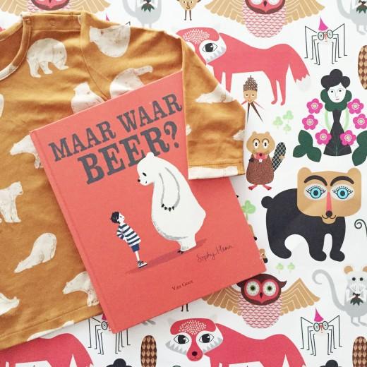 Kinderboek Maar waar beer