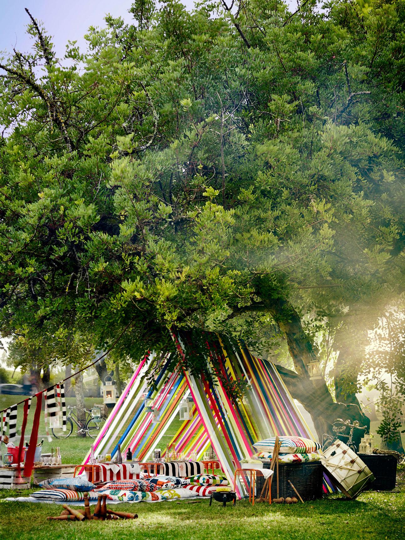 Ikea sommar 2016 buitenfeest bos