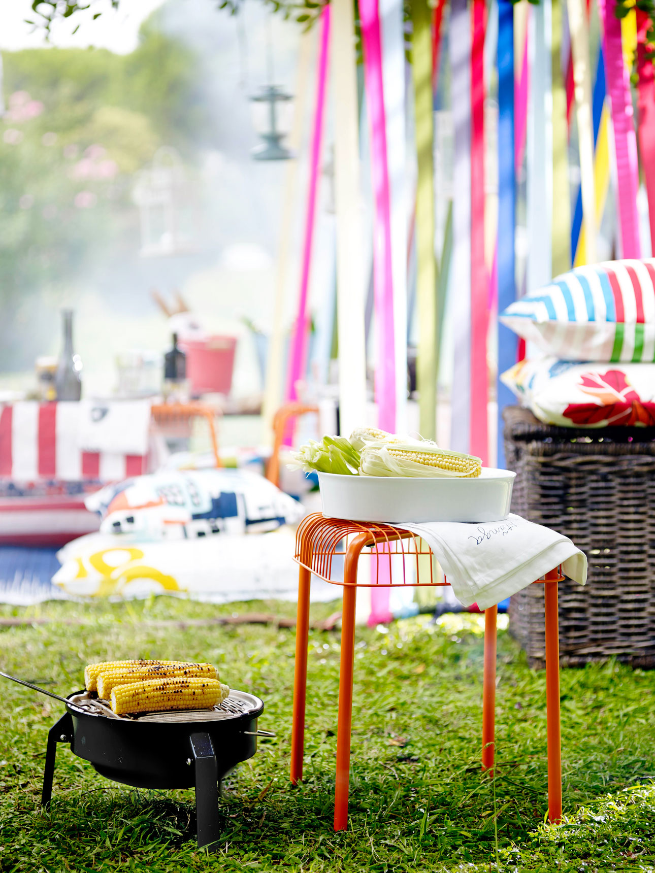 Ikea Sommar 2016 bank barbecue