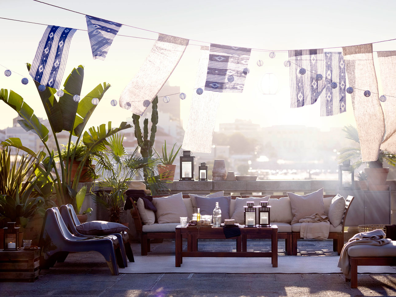 Ikea tuincollectie 2016 buiten eten dakterras