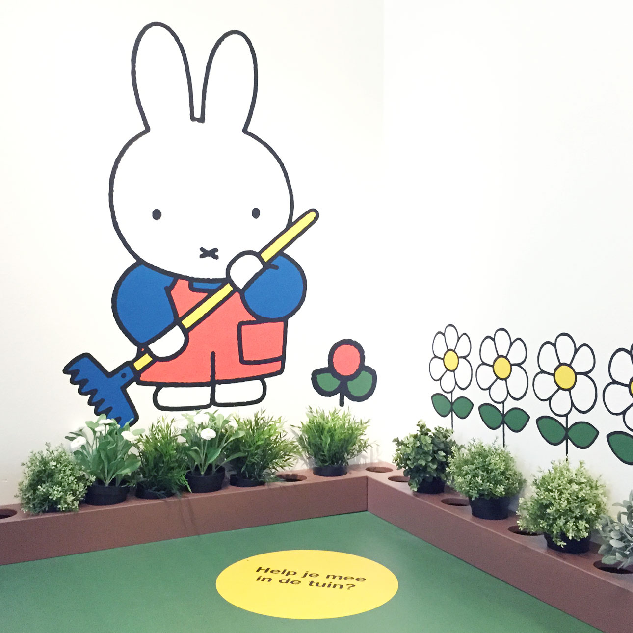 Nijntje museum tuin