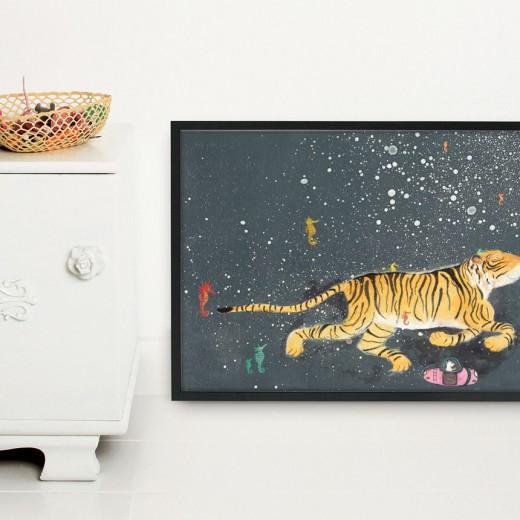 Kek Amsterdam poster fiep westendorp tijger