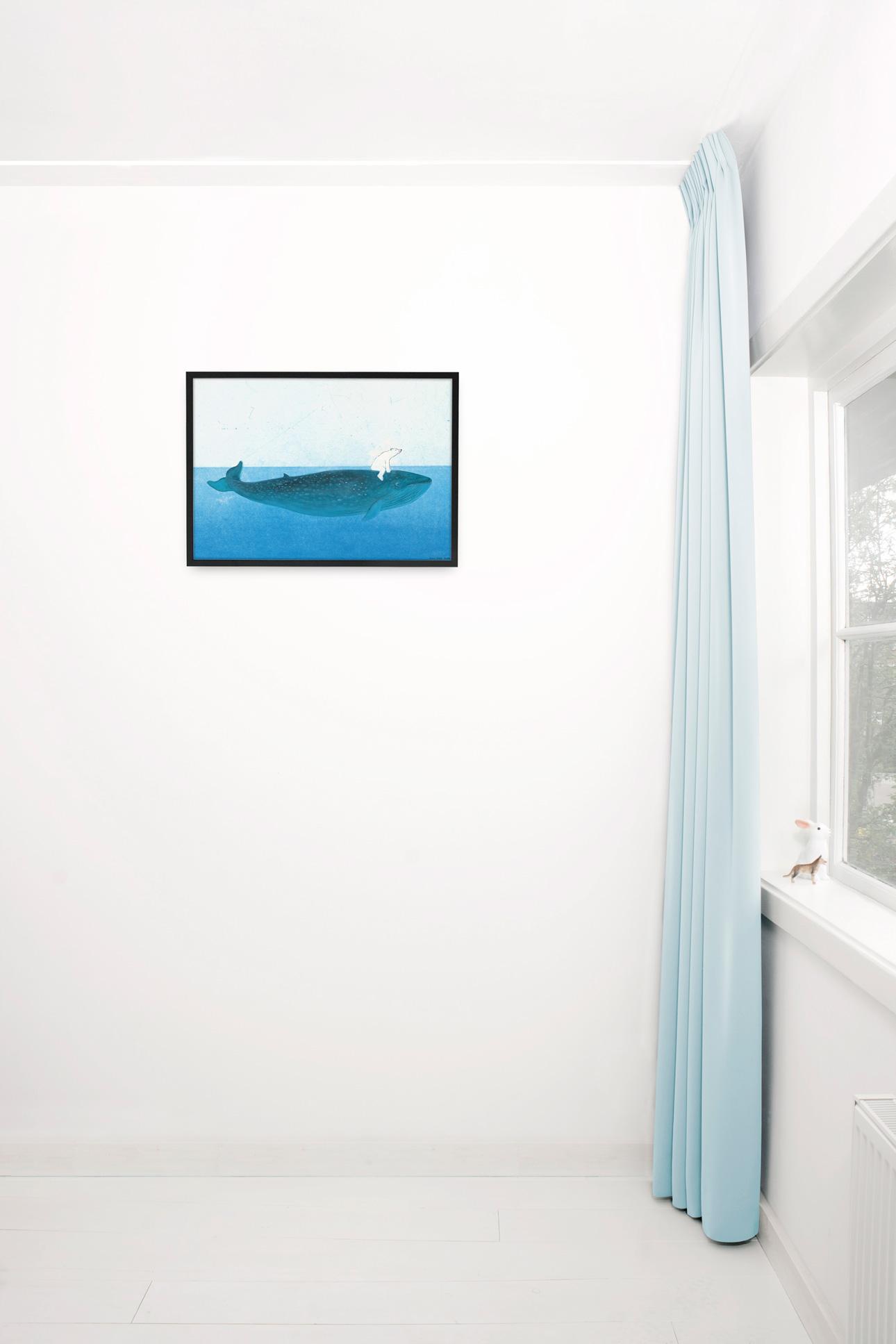 Kek Amsterdam poster fiep westendorp - walvis