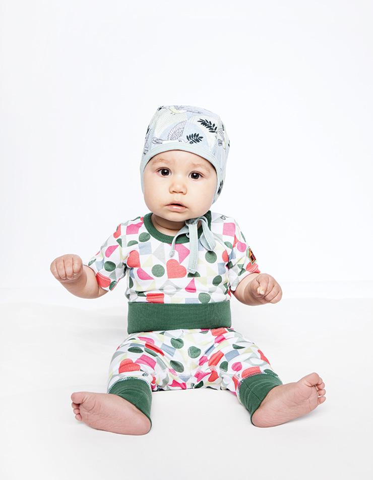 Modeerska Huset SS16 Love Tiles baby
