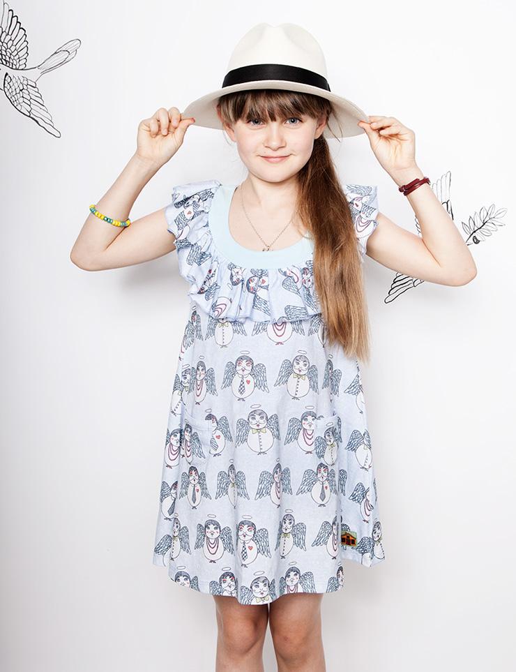 Modeerska Huset ss16 Angel Delights jurk