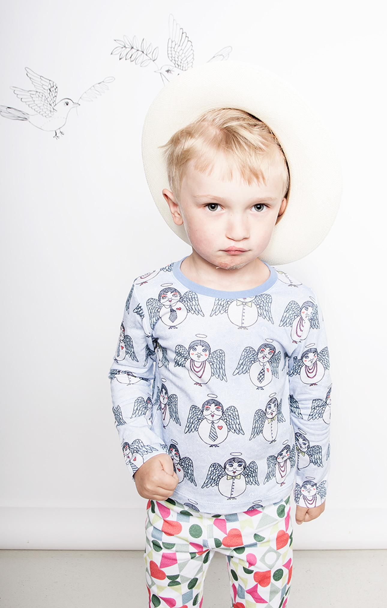 Modeerska Huset ss16 Angel Delights t-shirt