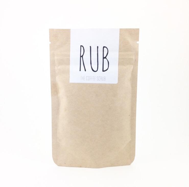 moederdag koffie RUB coffee scrub