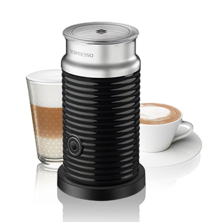 moederdag koffie nespresso aeroccino 3 black