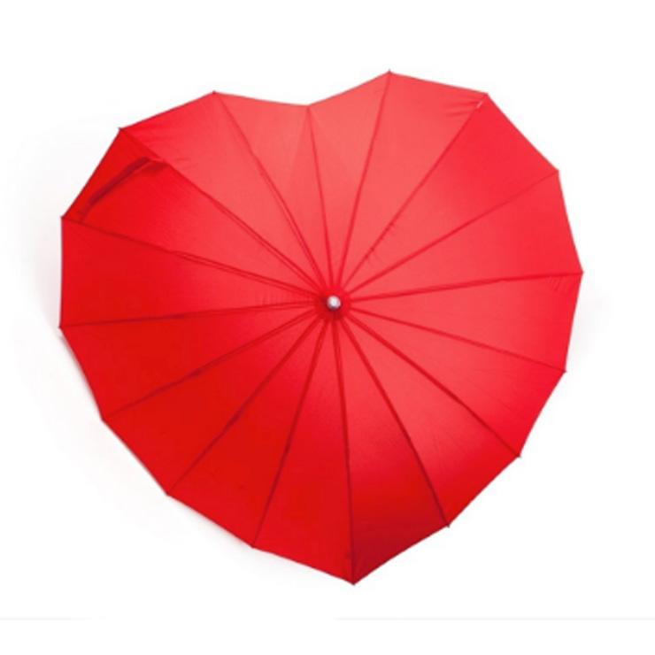 Moederdag cadeau paraplu hart